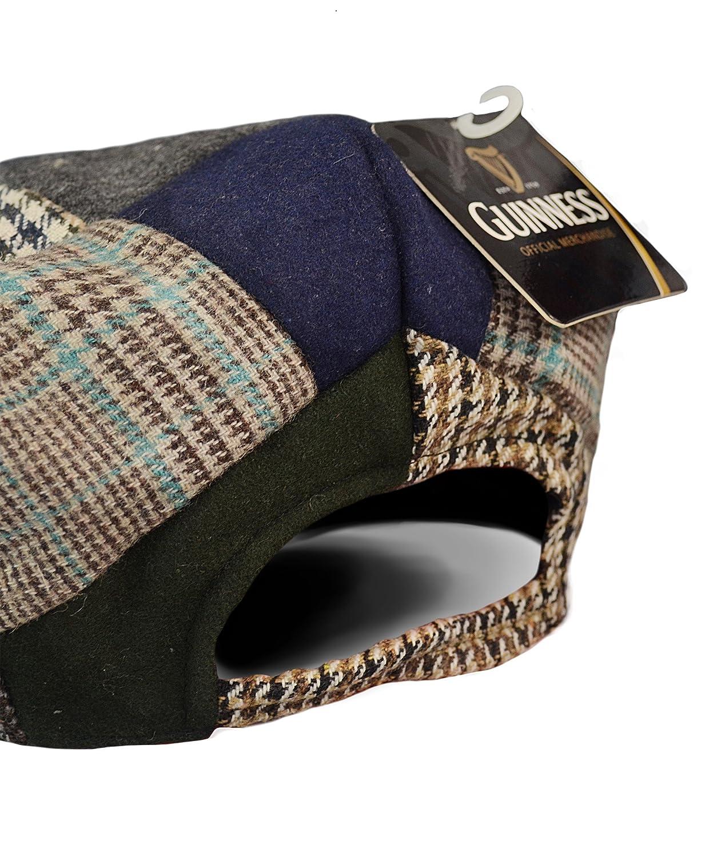 Cappello da uomo Guinness Official Merchandise Harp Embroidered Flat Cap