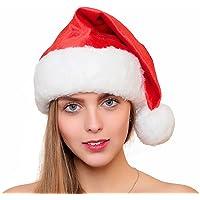 Official Plush & Faux Fur Santa Claus Hat The