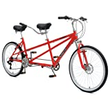 Mantis Taureno Tandem Bike, 26 inch Wheels, 18 inch Frame, Unisex, Red