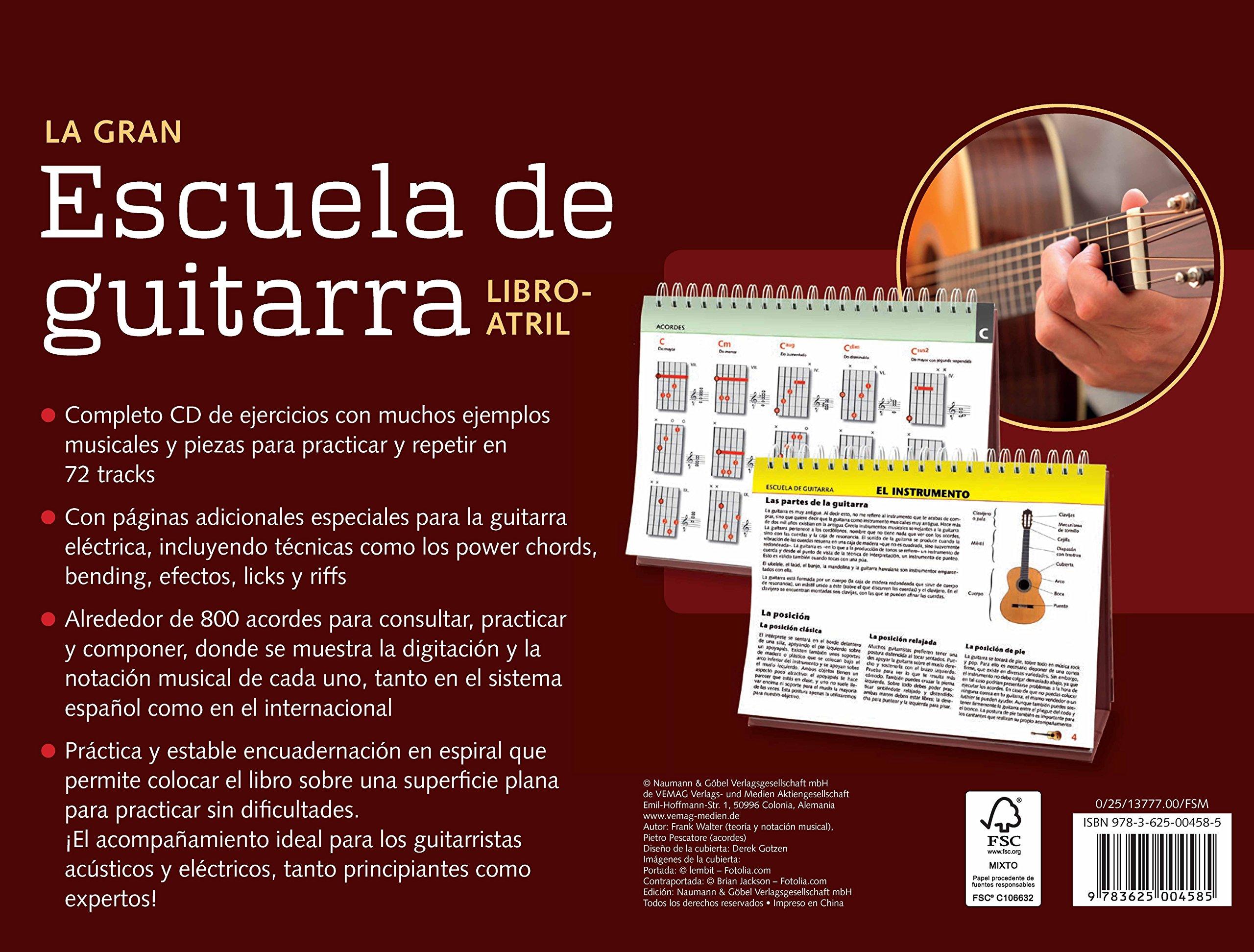 LA GRAN ESCUELA DE GUITARRA NGV: Varios: 9783625004585: Amazon.com: Books