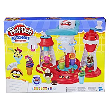 Play Doh Kitchen Creations Ultimate Swirl Ice Cream Maker Play Food