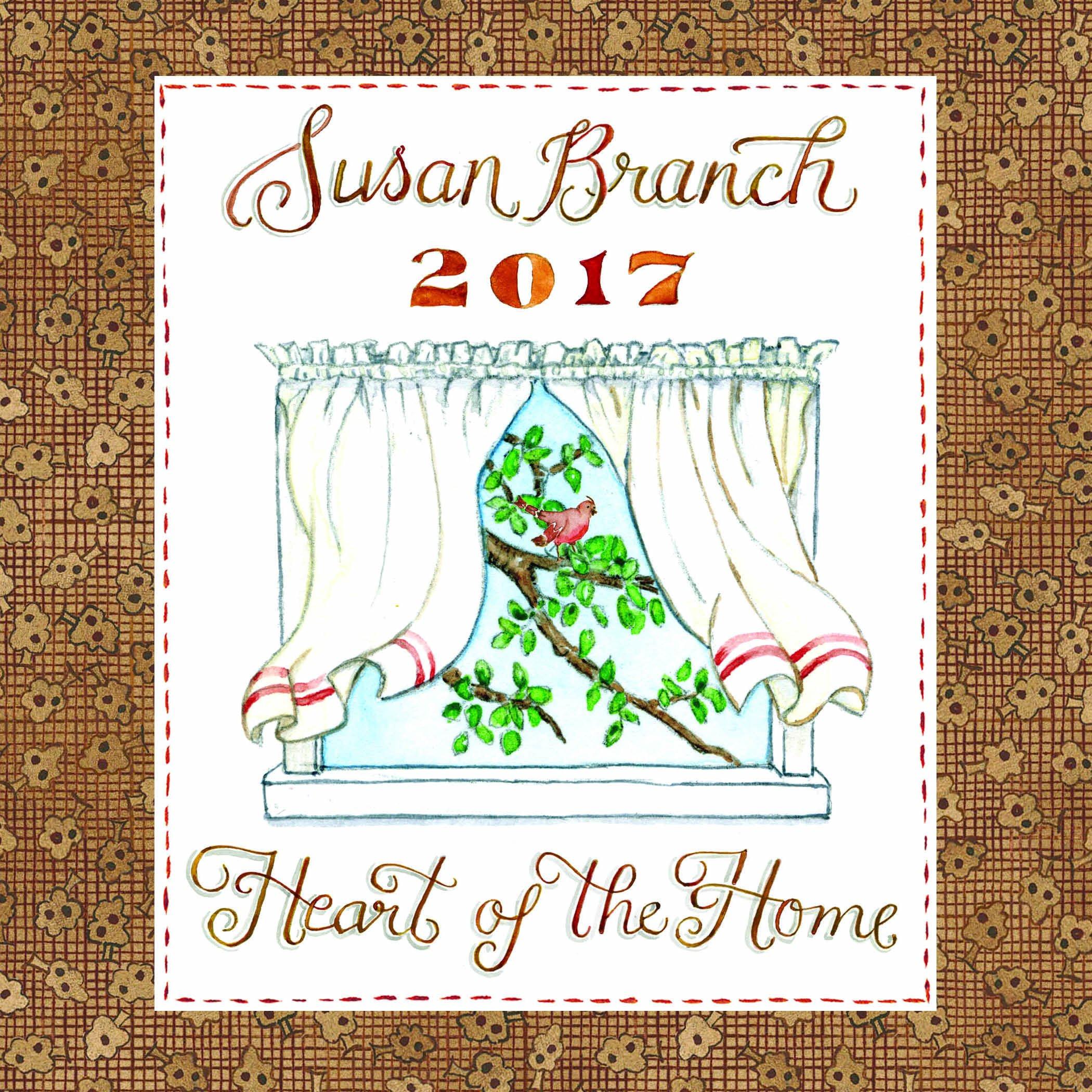 2017 Susan Branch Heart of the Home Mini Calendar by 2017 Calendars