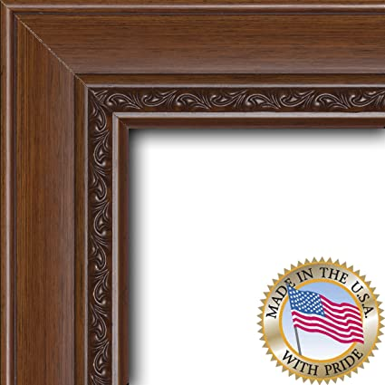 Buy ArtToFrames 6x18 / 6 x 18 Picture Frame Walnut .. 2.5\'\' wide ...