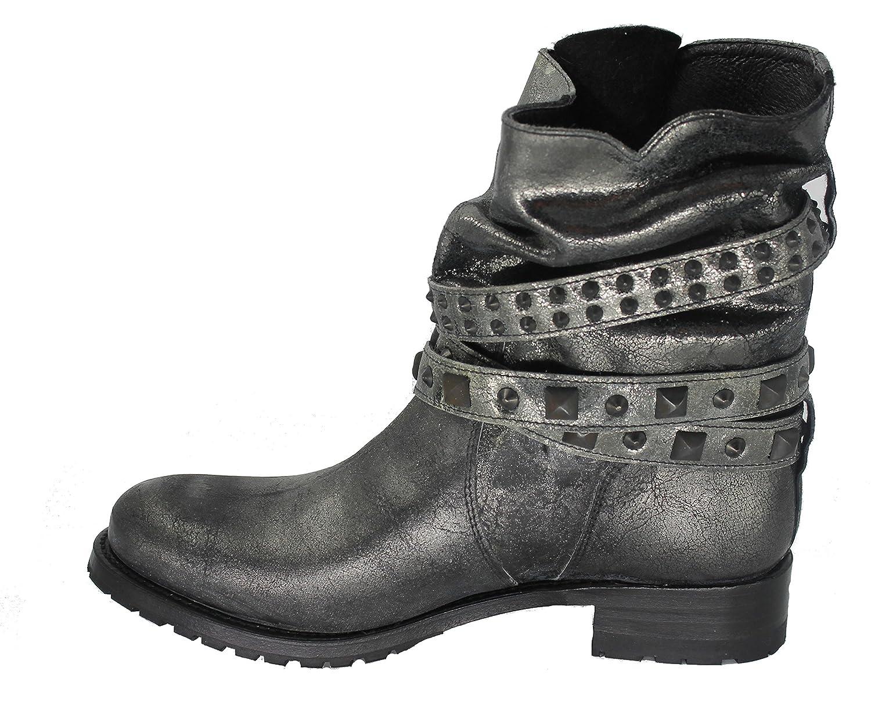Sendra Stiefel 12100 Metallic- Metallic- Metallic- Damen Stiefelette 4ad9b7