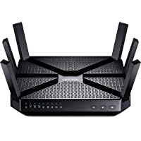 Deals on TP-Link AC3200 Wireless Wi-Fi Tri-Band Gigabit Router Archer C3200
