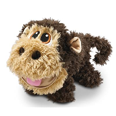 Stuffies Baby Scout The Monkey, Soft and Cute Plush Stuffed Animal Toy For Kids and 2 Friendship Bracelets: Toys & Games
