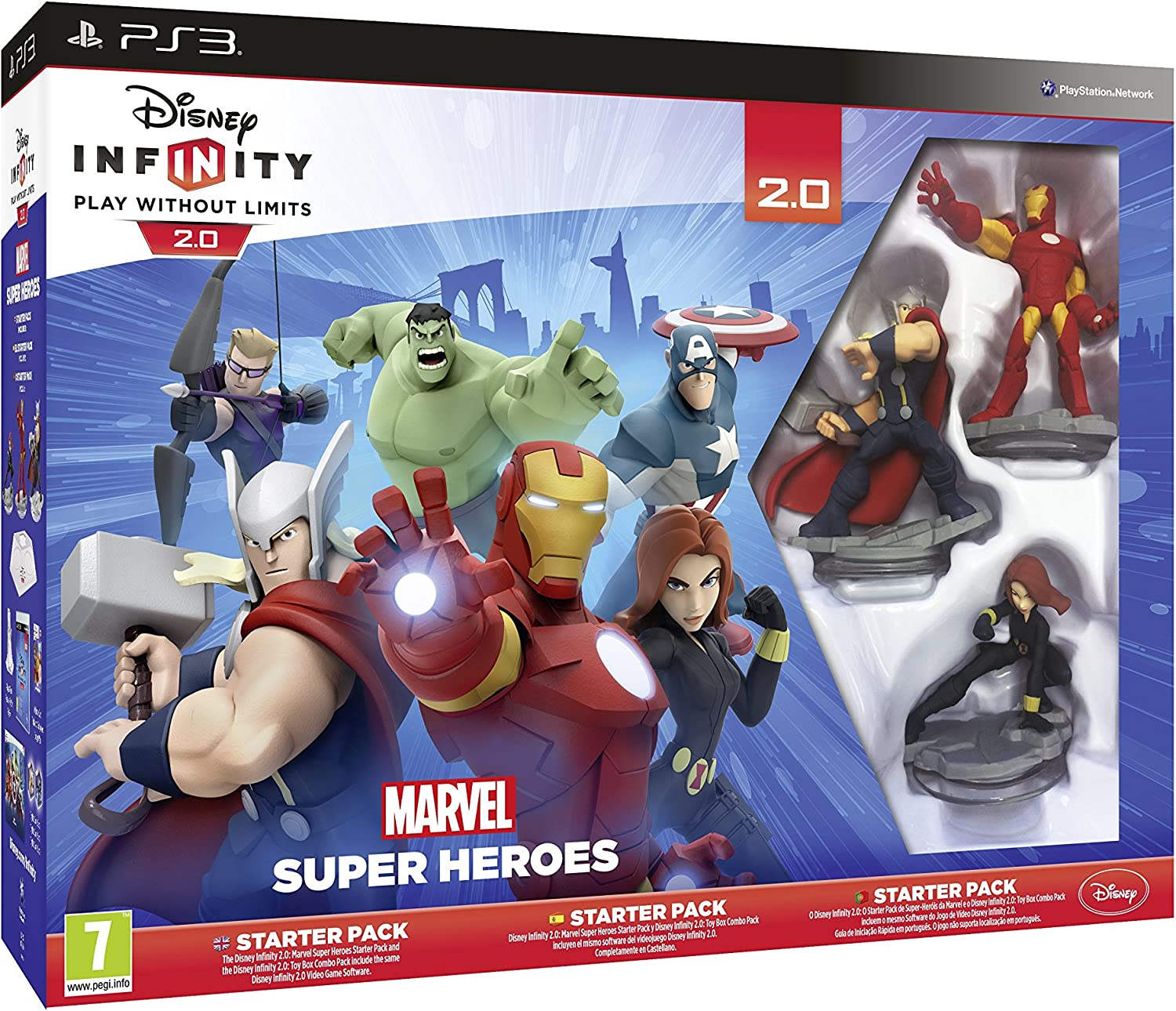 Disney Infinity: Marvel Super Heroes. Starter Pack 2.0 - PlayStation 3: Amazon.es: Videojuegos