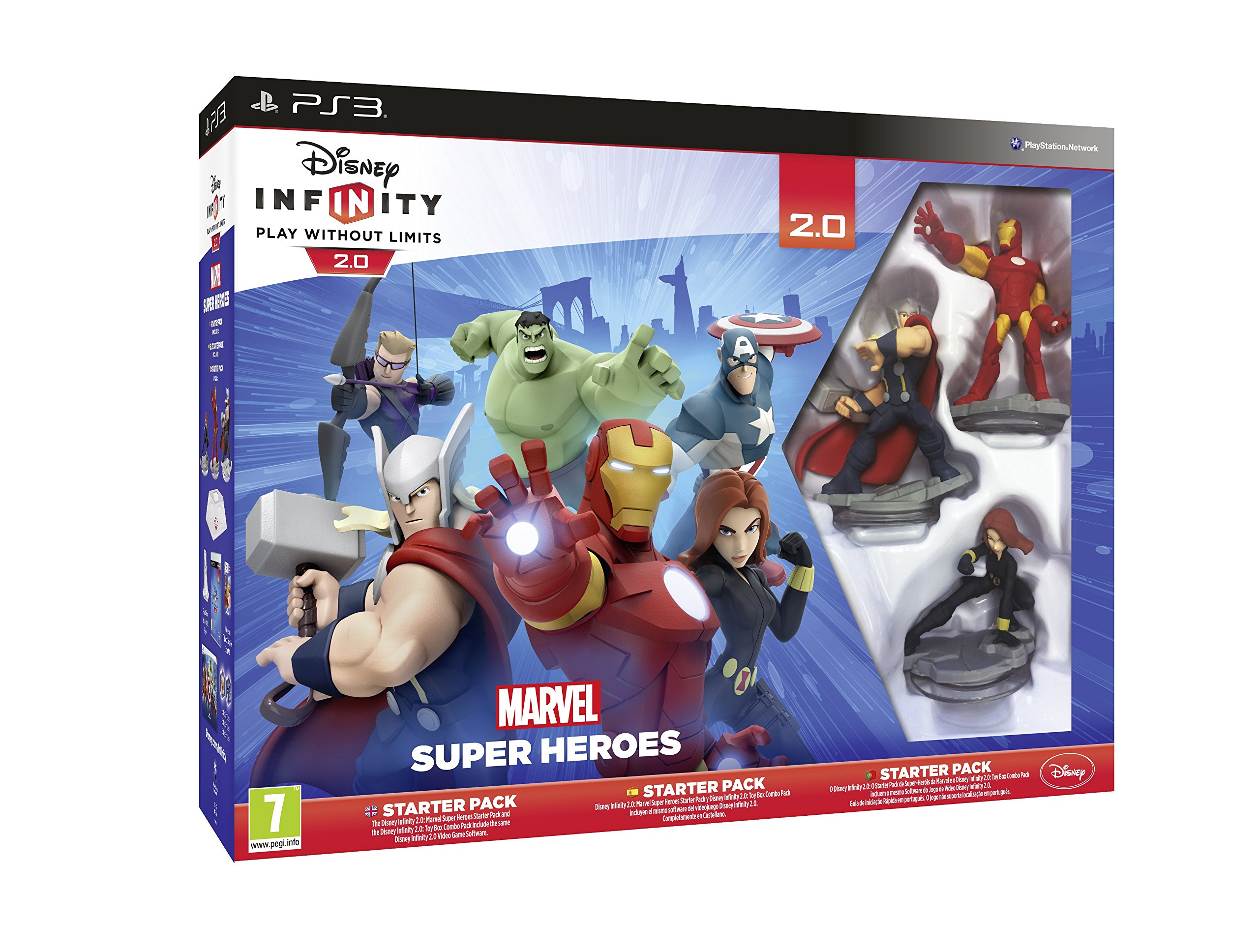 Disney Infinity 2.0 Marvel Superheroes Starter Pack (PS3)