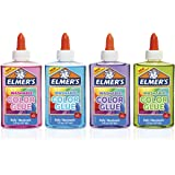 Elmer's Washable Translucent Color Glue 4-Count Assorted Colors