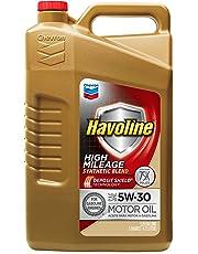 HAVOLINE (223681482-6PK Aceite de Motor de Alto kilometraje 5W-30-1 qt. (Paquete de 6Unidades), 5 Quart (Pack of 1)