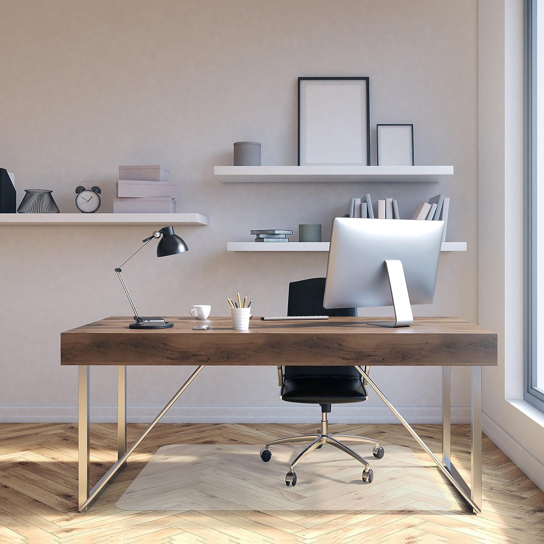 amazon com office chair mat for hardwood floor opaque office