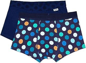 Happy Socks Bañador (Pack de 2) para Hombre: Amazon.es: Ropa y ...