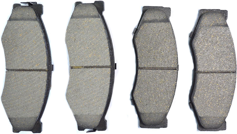 Dash4 MD266 Semi-Metallic Brake Pad