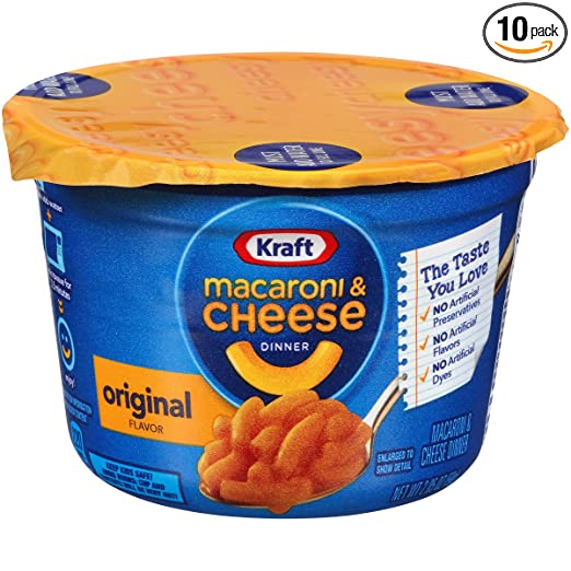 Kraft Easy Mac Microwavable Cu...