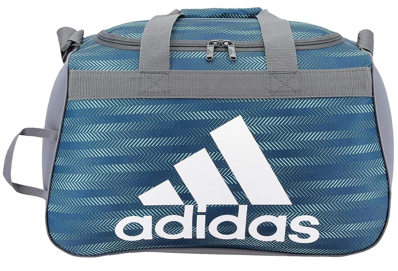 adidas Unisex Diablo Small Duffel Bag, Energy Aqua Ratio/Onix/White, ONE SIZE