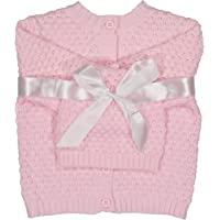 Baby Dove Newborn Popcorn Knit Cardigan & Beanie Gift Set-A Perfect Baby Sweater & Hat Outfit