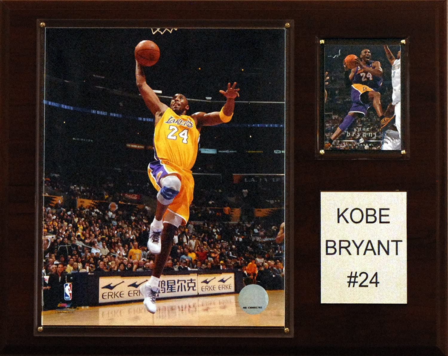 C & I Collectables NBA Kobe Bryant Los Angeles Lakers Spieler Plaque C&I Collectables 1215KOBE