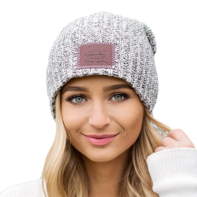 Love Your Melon Black Speckled Beanie at Amazon Men s Clothing store  7bd57026632