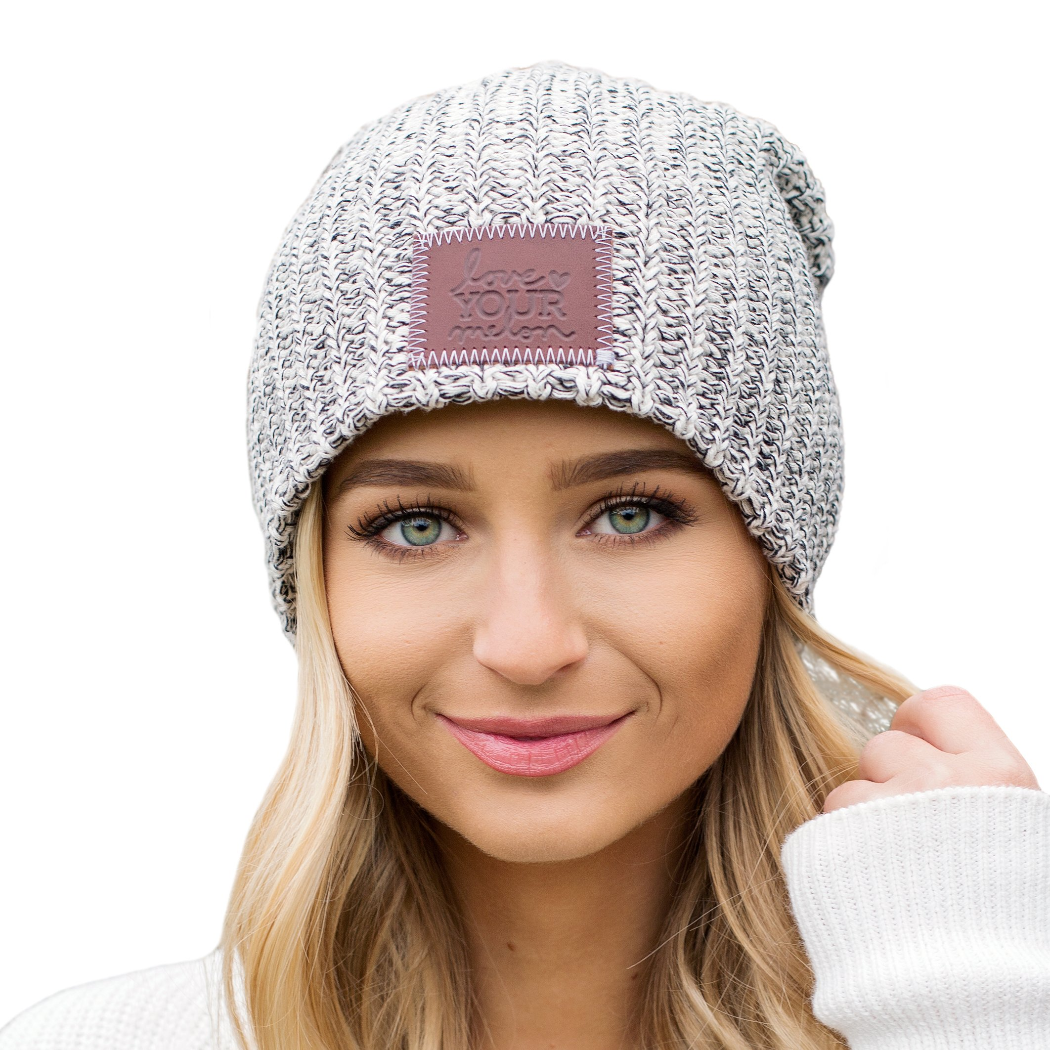 Love Your Melon Black Speckled Beanie by Love Your Melon (Image #1)