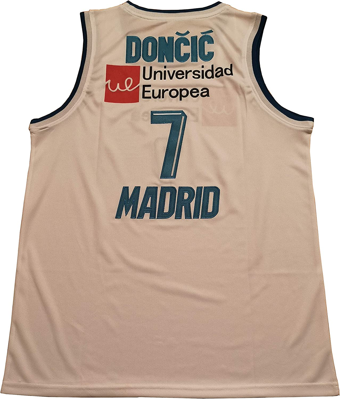 Amazon.com: Kooy Luka Doncic #7 - Camiseta de baloncesto ...