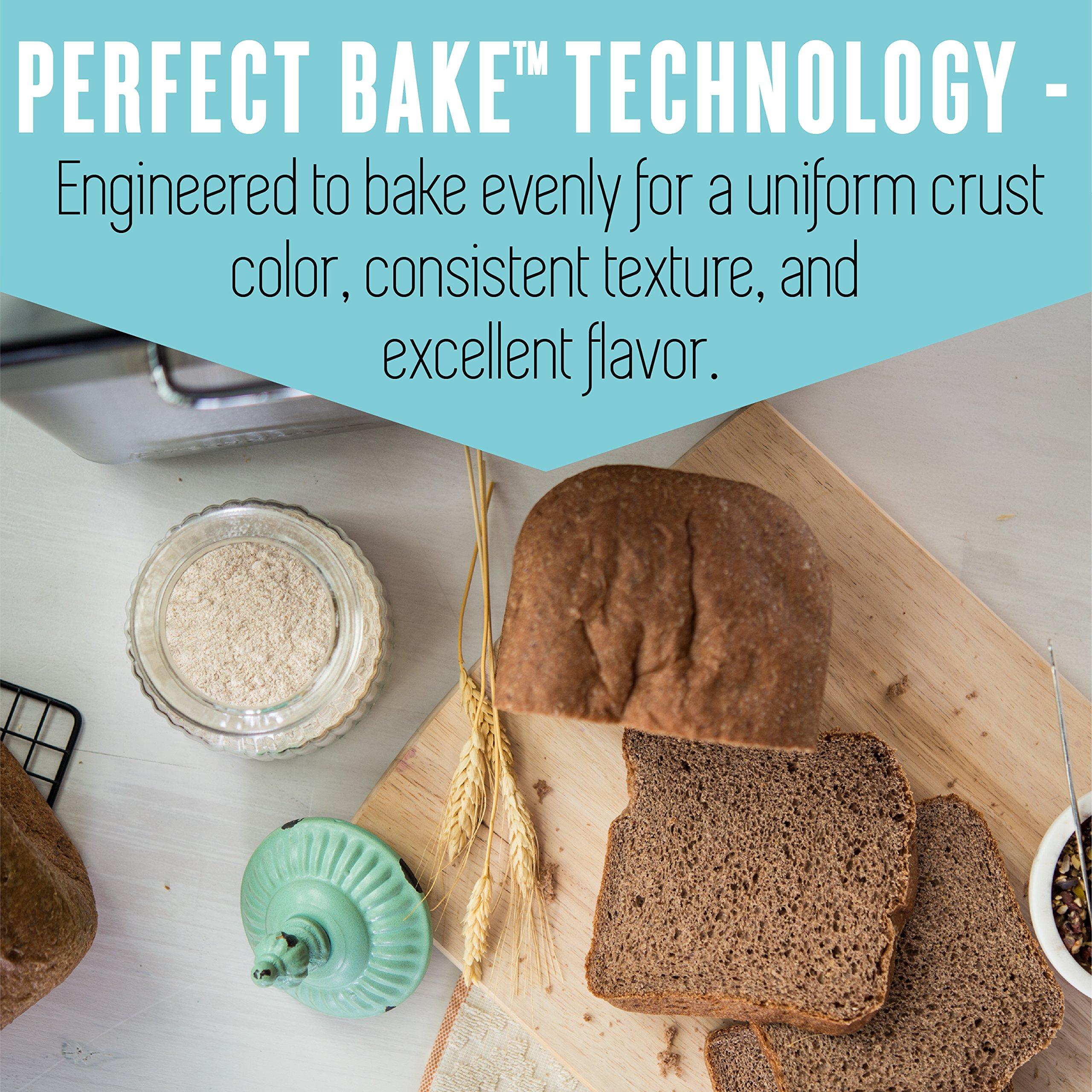 Breadman 2 lb Professional Bread Maker, Stainless Steel, BK1050S by Breadman (Image #6)