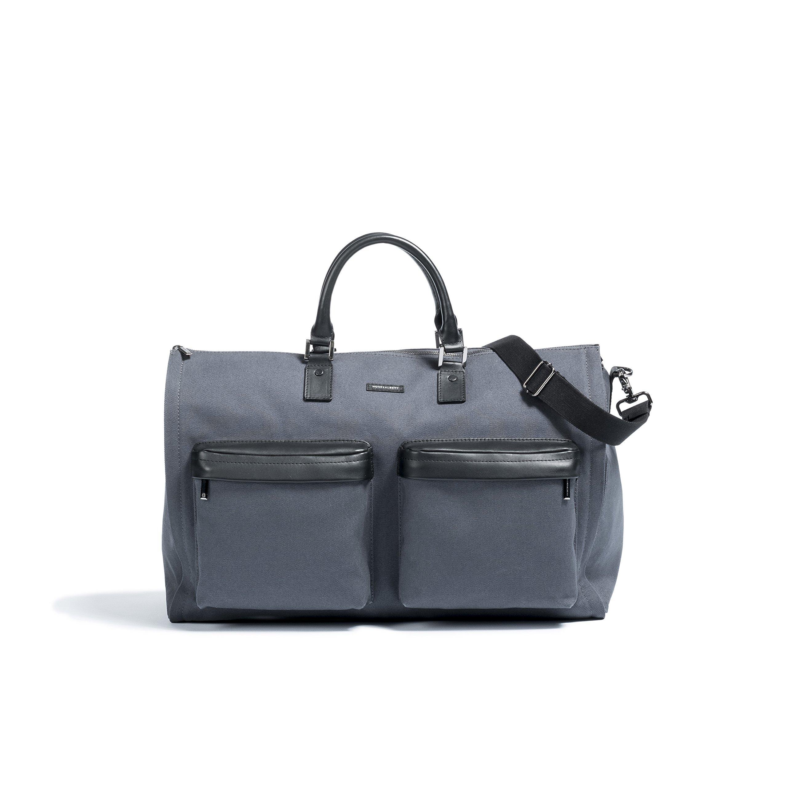 Hook & Albert Garment Weekender Bag (Dark Gray)