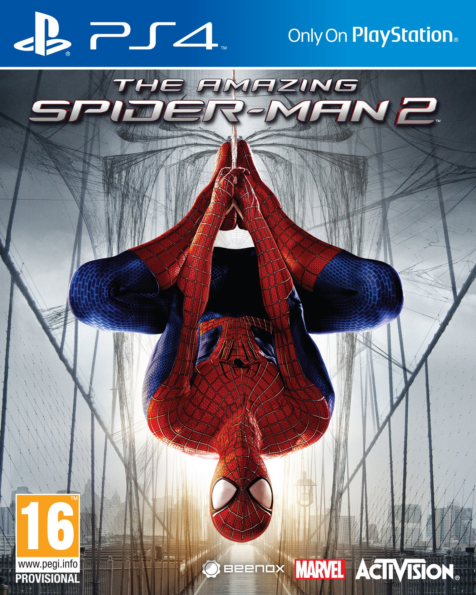 The Amazing Spider-Man 2 (Spiderman) Sony Playstation 4 PS4 Game by Activision (Image #1)