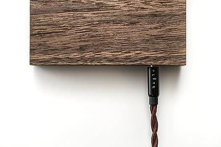 FLYTE Manhattan - La auténtica lámpara flotante que incorpora una bombilla LED, original y levitante (base de nogal, bombilla con tapa de cromo) [Clase de ...