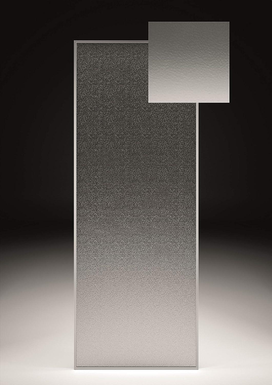 Crocket Mampara de Ducha Frontal + Puerta Corredera Cristal New Carglass 6 mm - Doble rodamiento - Tratamiento Antical - Perfiles Cromados - Ancho 140 cm (Adaptable 130 a 139 cm): Amazon.es: Hogar