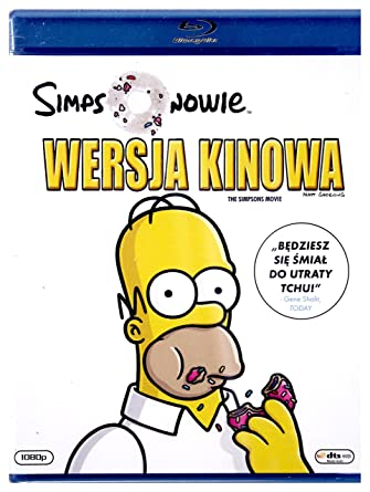 Amazon Com Simpsons Movie The Region Free English Audio English Subtitles Dan Castellaneta Julie Kavner Nancy Cartwright Yeardley Smith Hank Azaria Harry Shearer Minnie Driver Kelsey Grammer Joe Mantegna Albert Brooks David Silverman