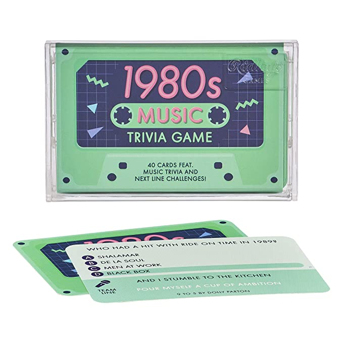 Amazon.com: Ridleys Games QUZ006 1980s Music Trivia Game ...