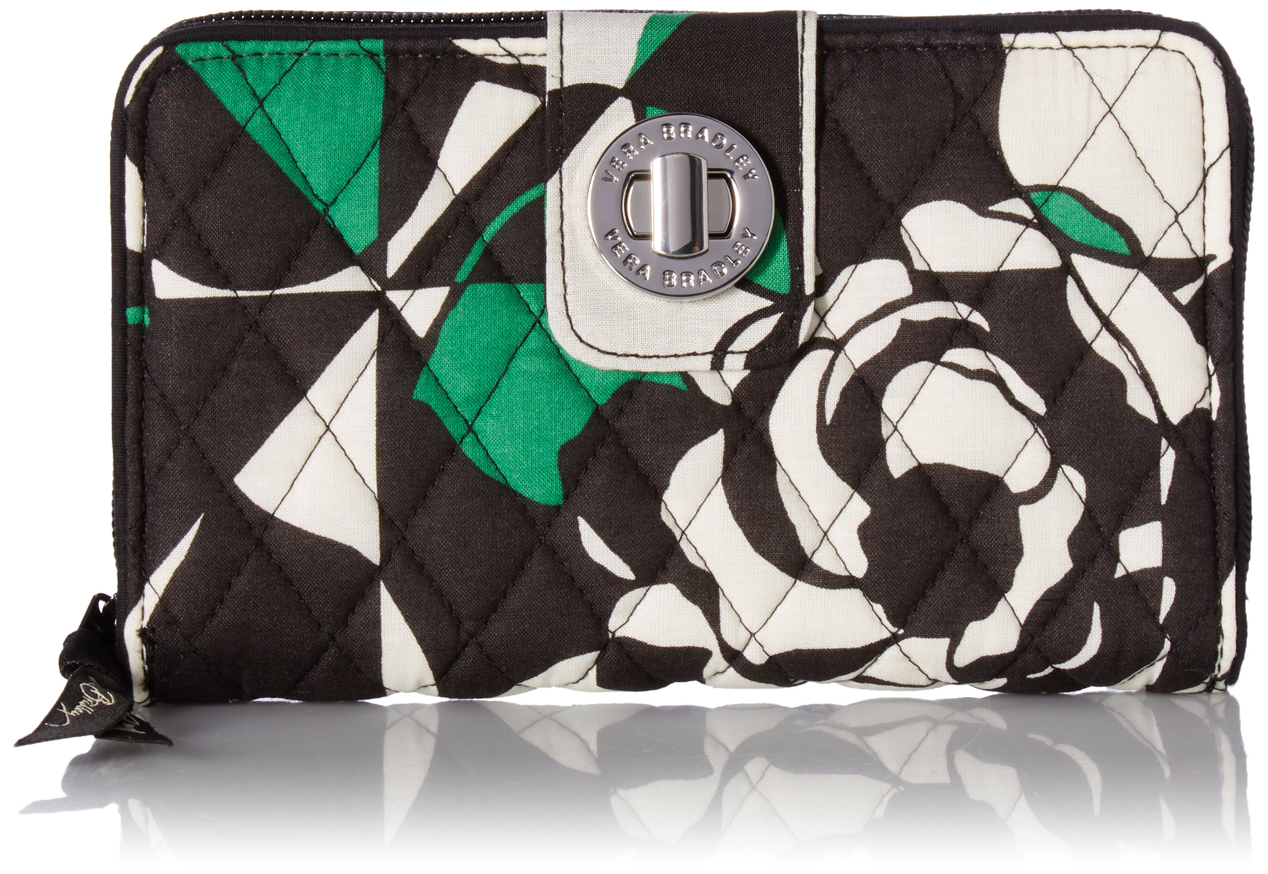 Turnlock Wallet Imperial Rose, One Size