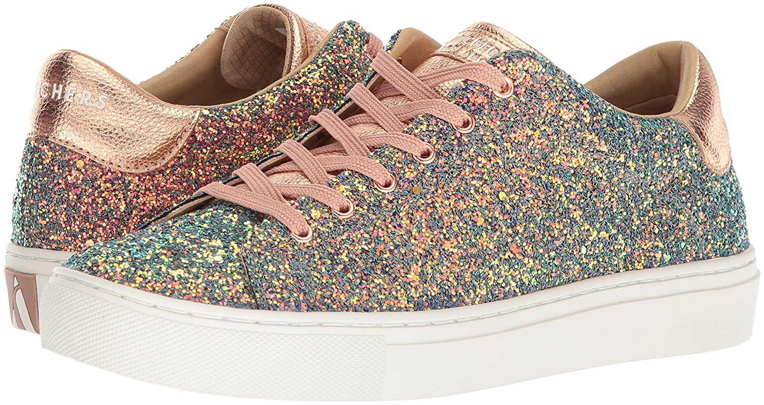 Skechers Women's Side Street-Awesome Sauce Sneaker B075ZYGCLS 10 M US|Gdmt