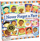 eeBoo I Never Forget a Face Memory Matching Game