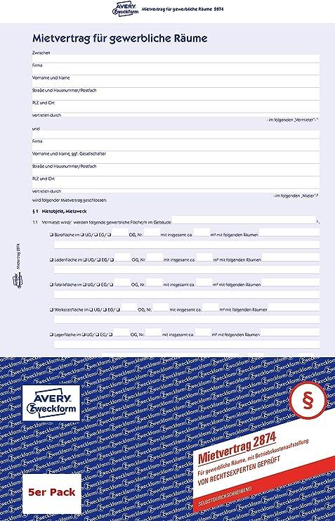 Sigel Vordruck Mietvertrag A4 6 Seitig Mv 466 0