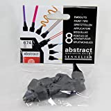 Sennelier Abstract acrylic 8 shape paint tips nozzles
