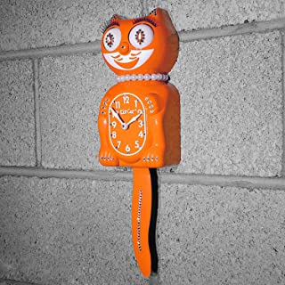 product image for Kit Cat Klock Jeweled Limited Edition Lady (Pumpkin Delight)