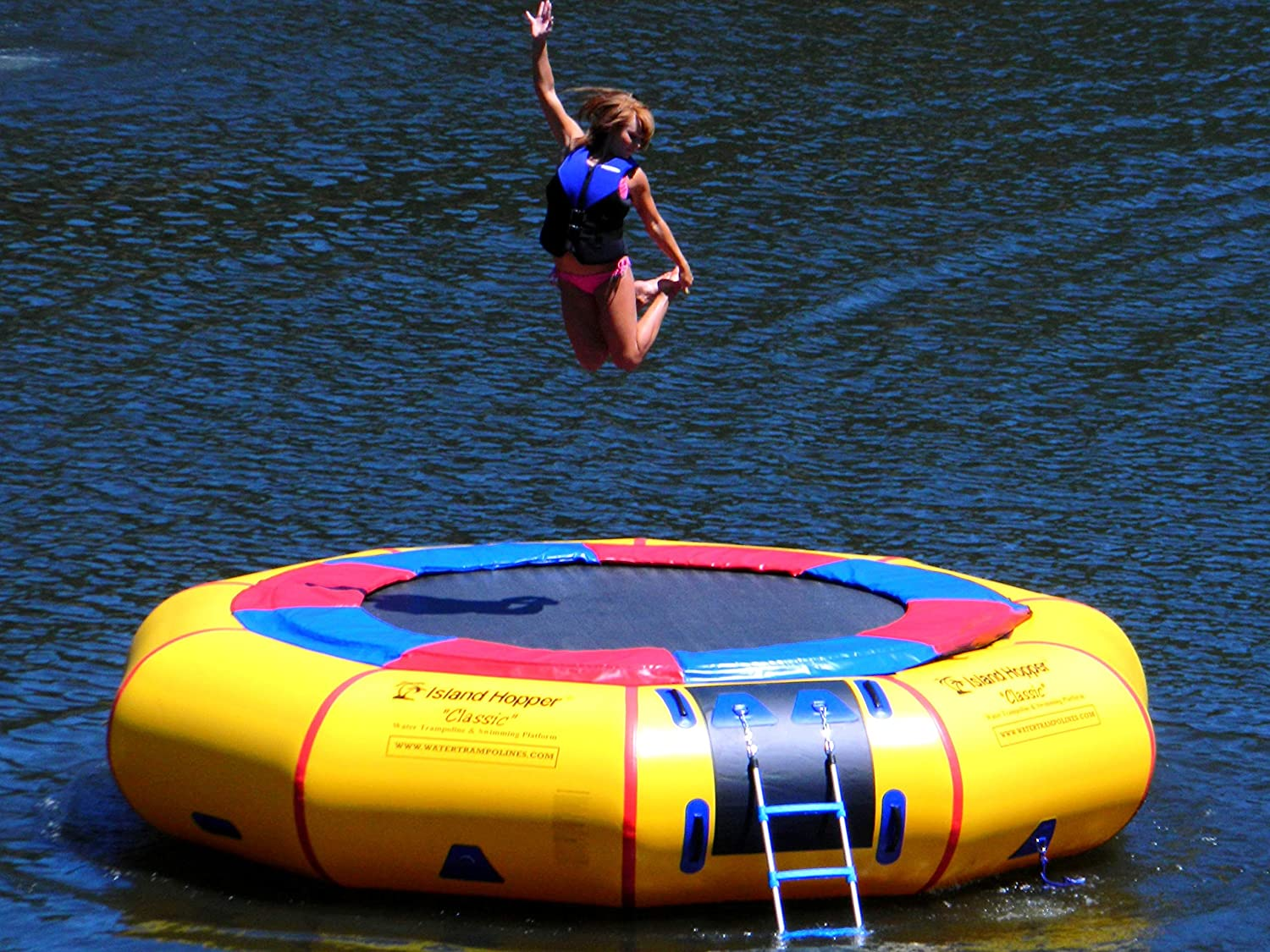 Image result for A Water Trampoline