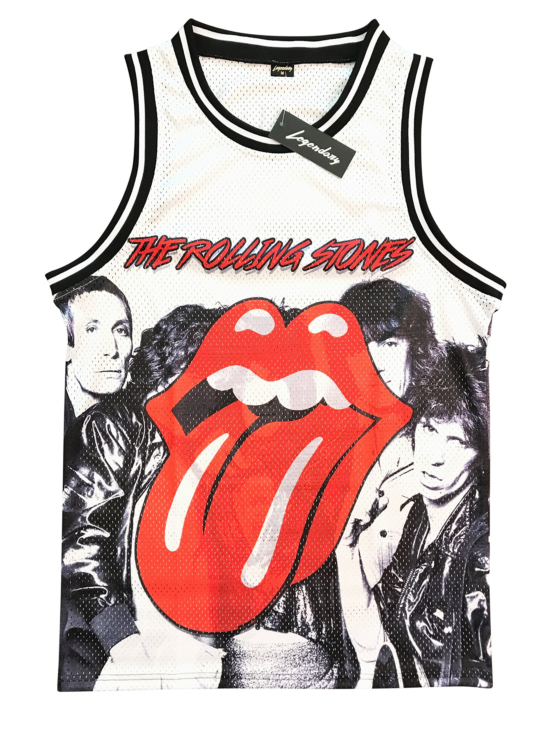 Legends Of Rock Men's The Rolling Stones T Shirt Jersey Limited Edition (Medium)