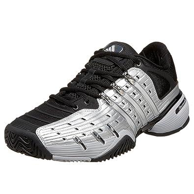 Adidas hombre Barricade V zapatillas de tenis, plata / negro