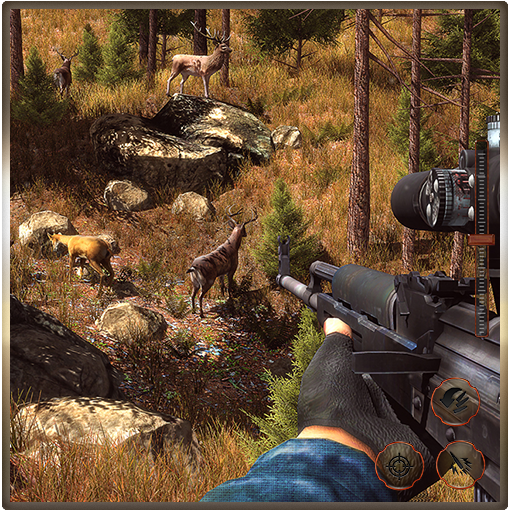 Wild Animal Survival Shooter Simulator: Jungle Hunting Games Free For Kids (Hunting Star)
