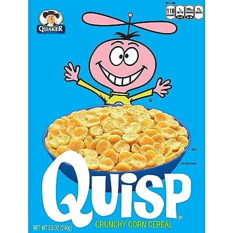 amazon com quaker quisp 8 5 oz 4 pack breakfast cereals
