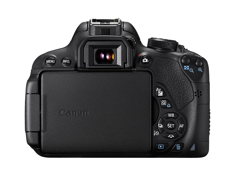 Canon EOS 700D + EF-S 18-55mm STM + EF-S 55-250mm STM Juego de ...
