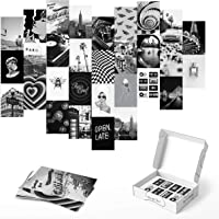 Haus and Hues Black and White Wall Decor Photo Collage Kit - Aesthetic Wall Collage Kit | Photo Collage Kit For Wall…