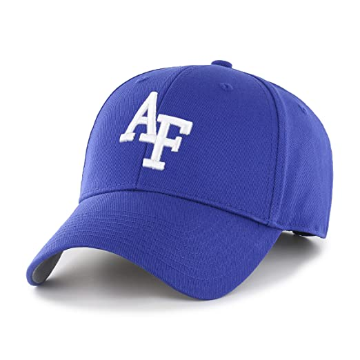 newest 13bf1 6248f Amazon.com   NCAA Air Force Falcons OTS All-Star MVP Adjustable Hat, Royal, One  Size   Clothing