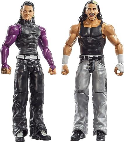 WWE Jeff Hardy /& Matt Hardy The Hardy Boyz Wrestling Action Figure Child Kid Toy