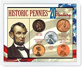 product image for American Coin Treasures Historic Pennies of The 20th Century