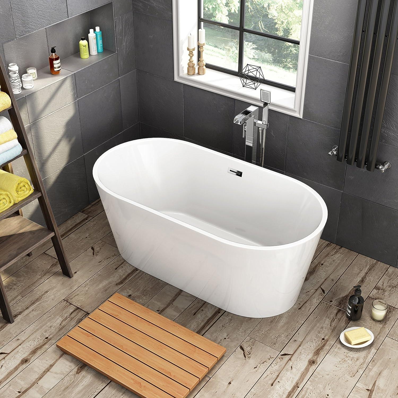 iBathUK 1500 x 750 mm Designer Freestanding Bathtub Luxury ...