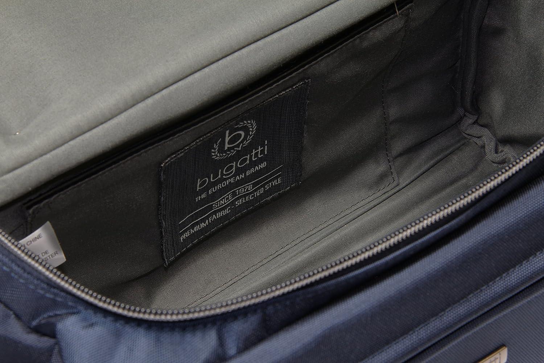 Blau Bugatti Contratempo Premium Kulturbeutel f/ür Damen und Herren