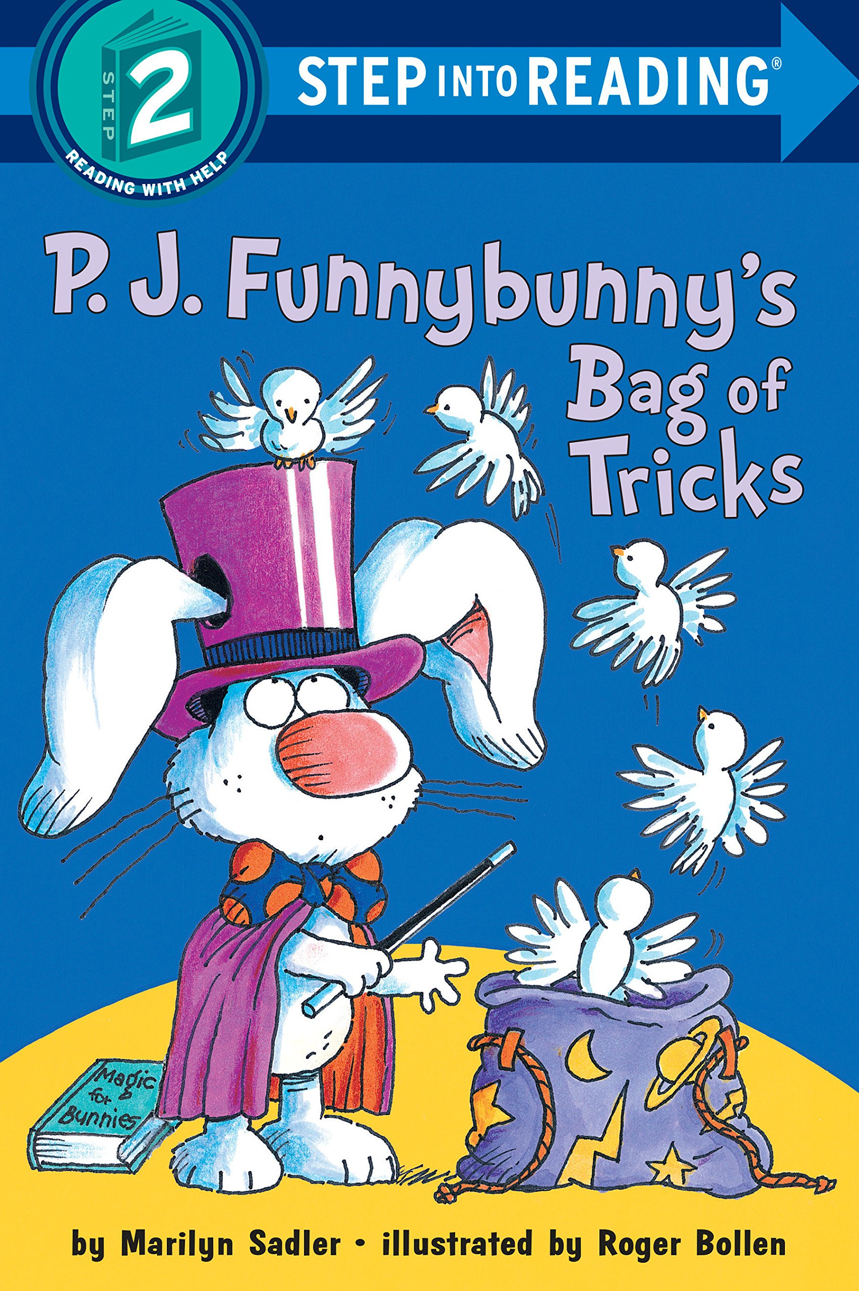 P.J. Funnybunny's Bag of Tricks (Step into Reading) ebook
